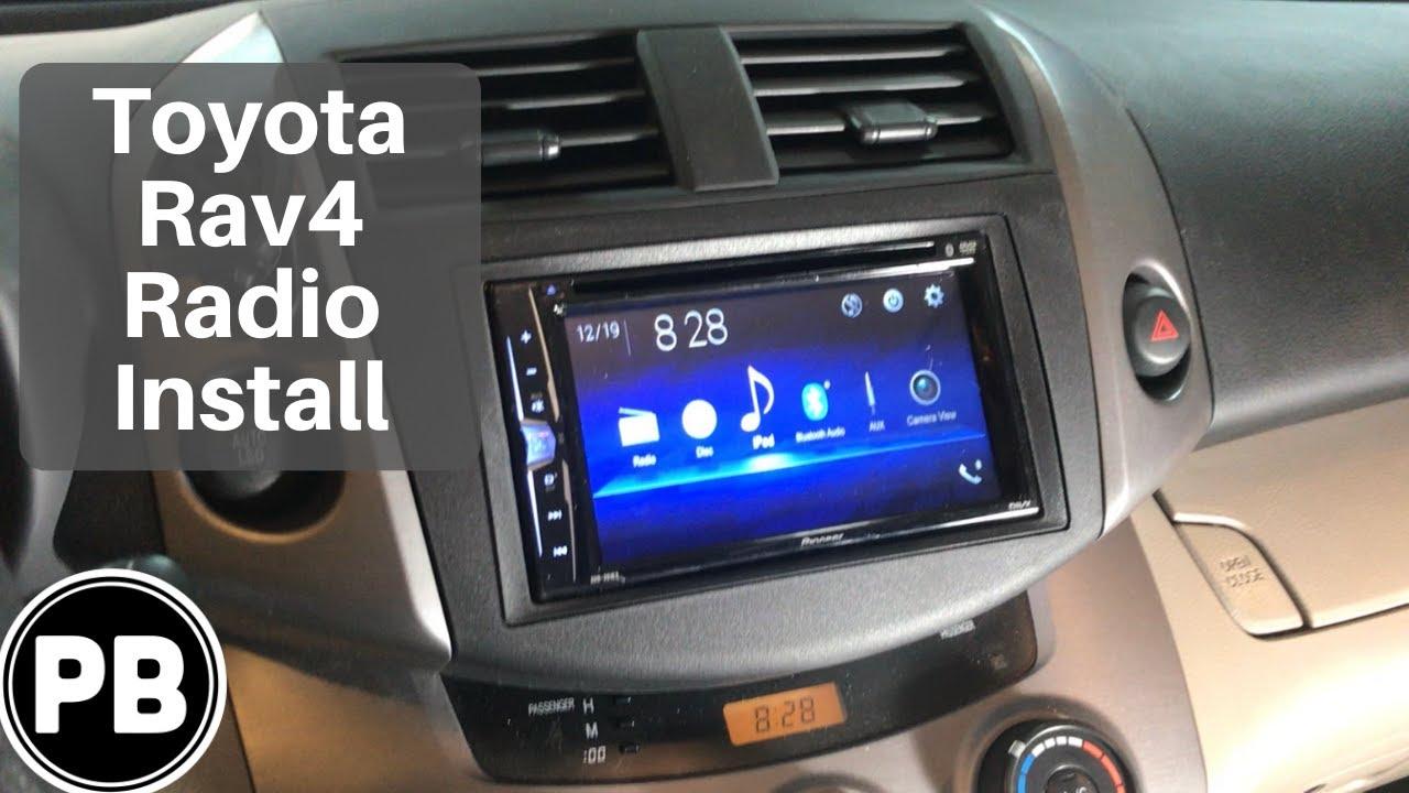 2006 - 2012 Toyota Rav4 Bluetooth Radio install