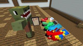 최고의 세배 - 세뱃돈 전쟁 미니게임 (with 공룡, 마인애플) - 마인크래프트 Minecraft