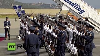 LIVE: Vladimir Putin visits Greece - Arrivals