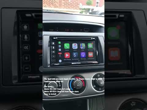 Le Carplay For Toyota Camry 2002 2006