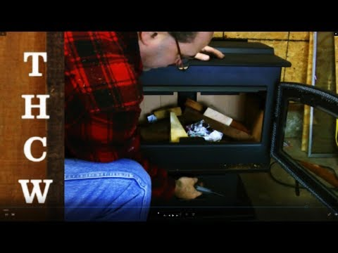 DIY Installing My NEW WoodPro High Efficiency Wood Burning Stove / Miracle Heat Reclaimer.