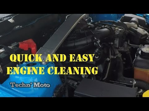 How to Super Clean a Mustang Engine Compartment Easily with S100