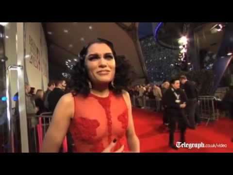 Adele, Kylie and Jessie J parade the Brits Awards 2012 red carpet