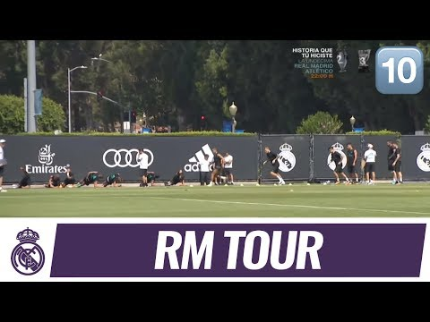 REAL MADRID training session from Los Angeles!  | REAL MADRID VS MANCHESTER UNITED (ICC)