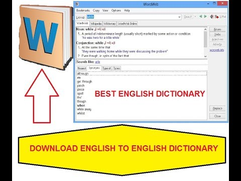 How To Install Best English Dictionary In Android Mobile (WordWeb)