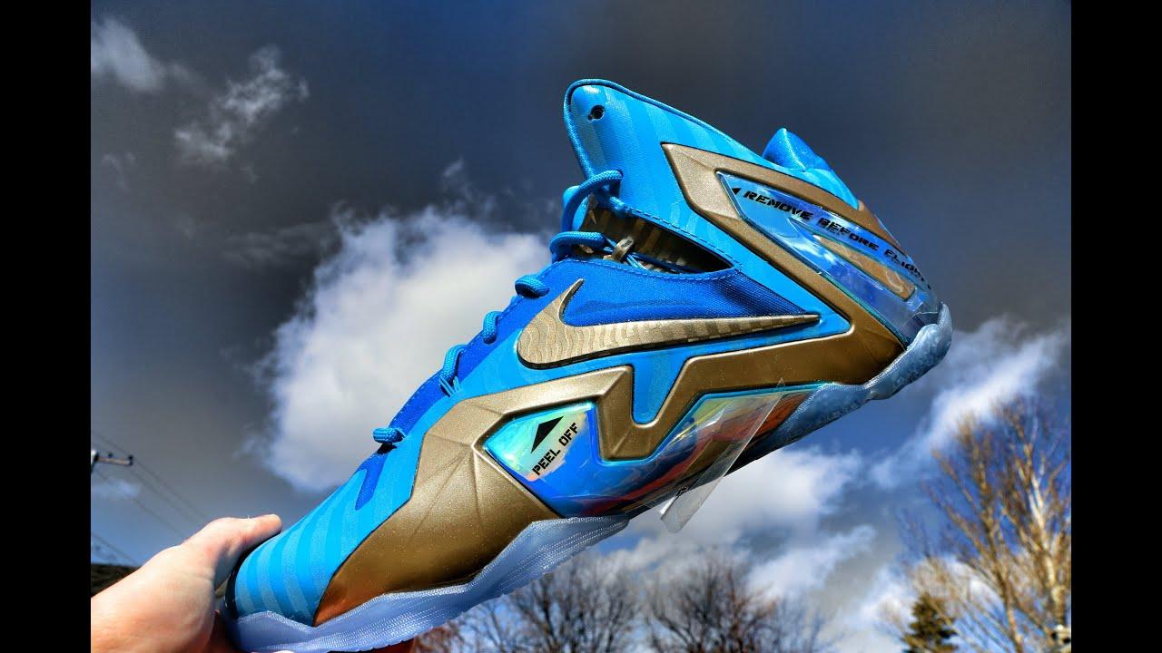 1f7010b2693 Nike Lebron 11 Elite Maison Du LeBron - Review + On Foot - YouTube