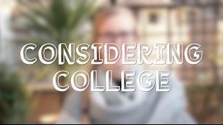 Considering College - John Cabot University