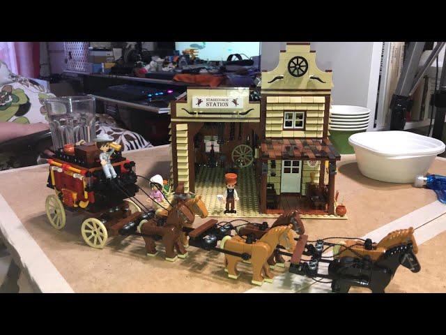 Blue Brixx Western Poststation 103415