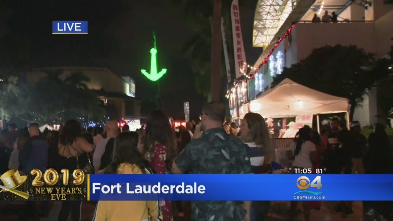 New Year's Eve Party In Fort Lauderdale Drops Anchor On 2019