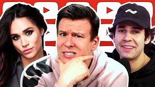 What this David Dobrik Leak REALLY Exposes, Meghan Markle Interview Controversy, Burger King &