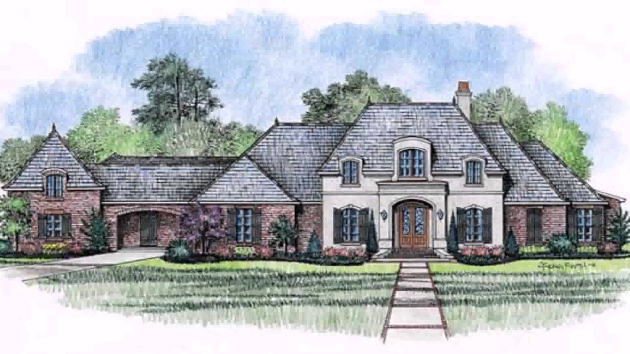 French country style homes pictures youtube for French country style house