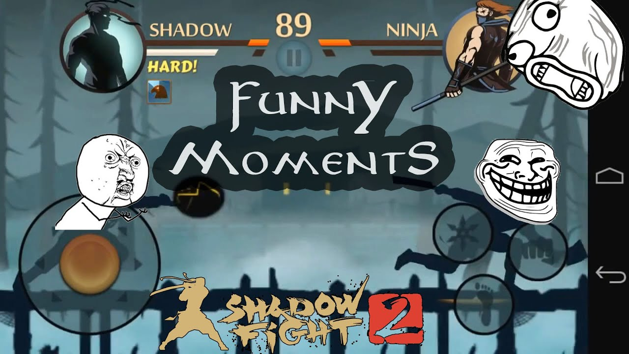 Funny Meme Moments : Shadow fight funny moments subscribers youtube