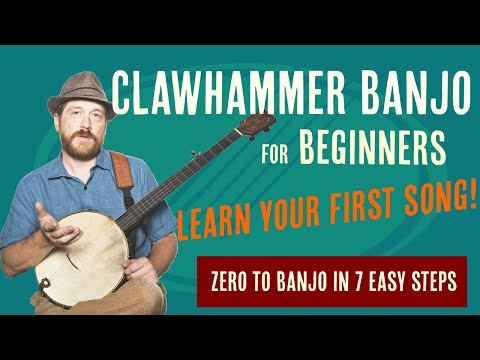 Beginner Clawhammer Banjo Crash Course - Learn Your First