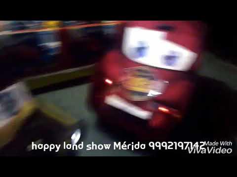 H. L. Show infantiles happy land Mérida Yucatán  cars