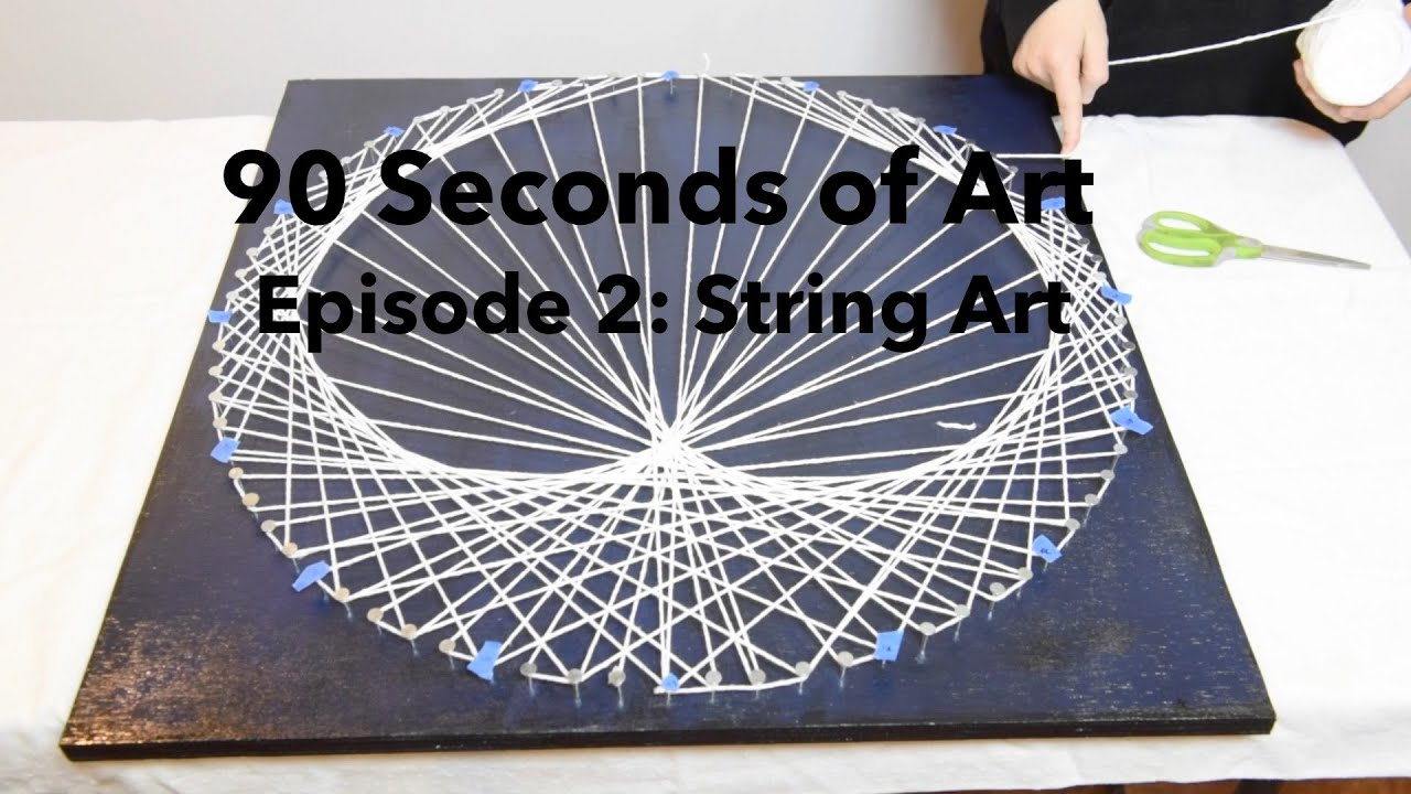 amazing tuto string art with tuto string