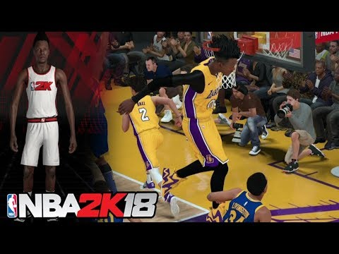 "7'7"" Point Guard in NBA 2K18! It Breaks the Game!"