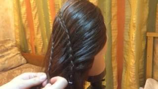 Видео урок двойного плетения Водопад ИЛ