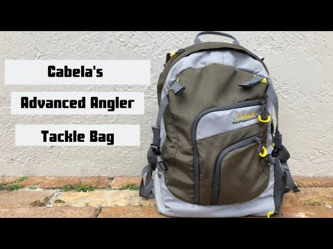Cabela's Advanced Angler Backpack (Quick Review) | Best Fishing Tackle Bag?