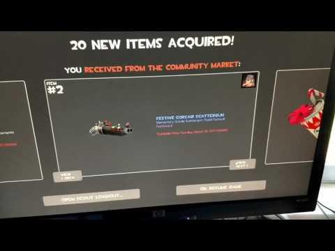 All My Tf2 Stuff I Got From The Steam Community Market