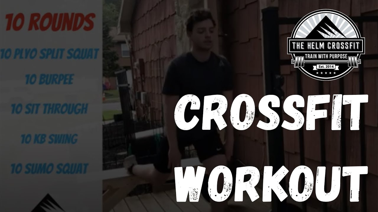CrossFit Workout | 10 Rounds