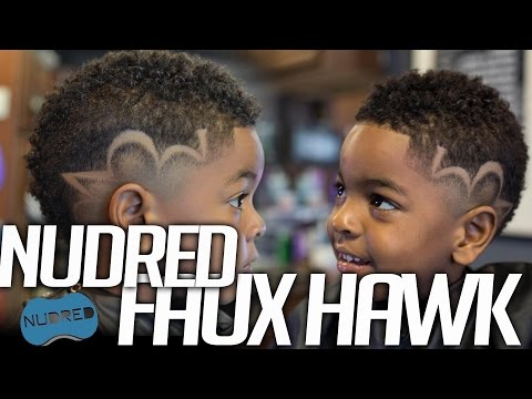 HOW TO: Kids Nudred Faux Hawk w/design | Course 103: NuDred Cuts & Styles