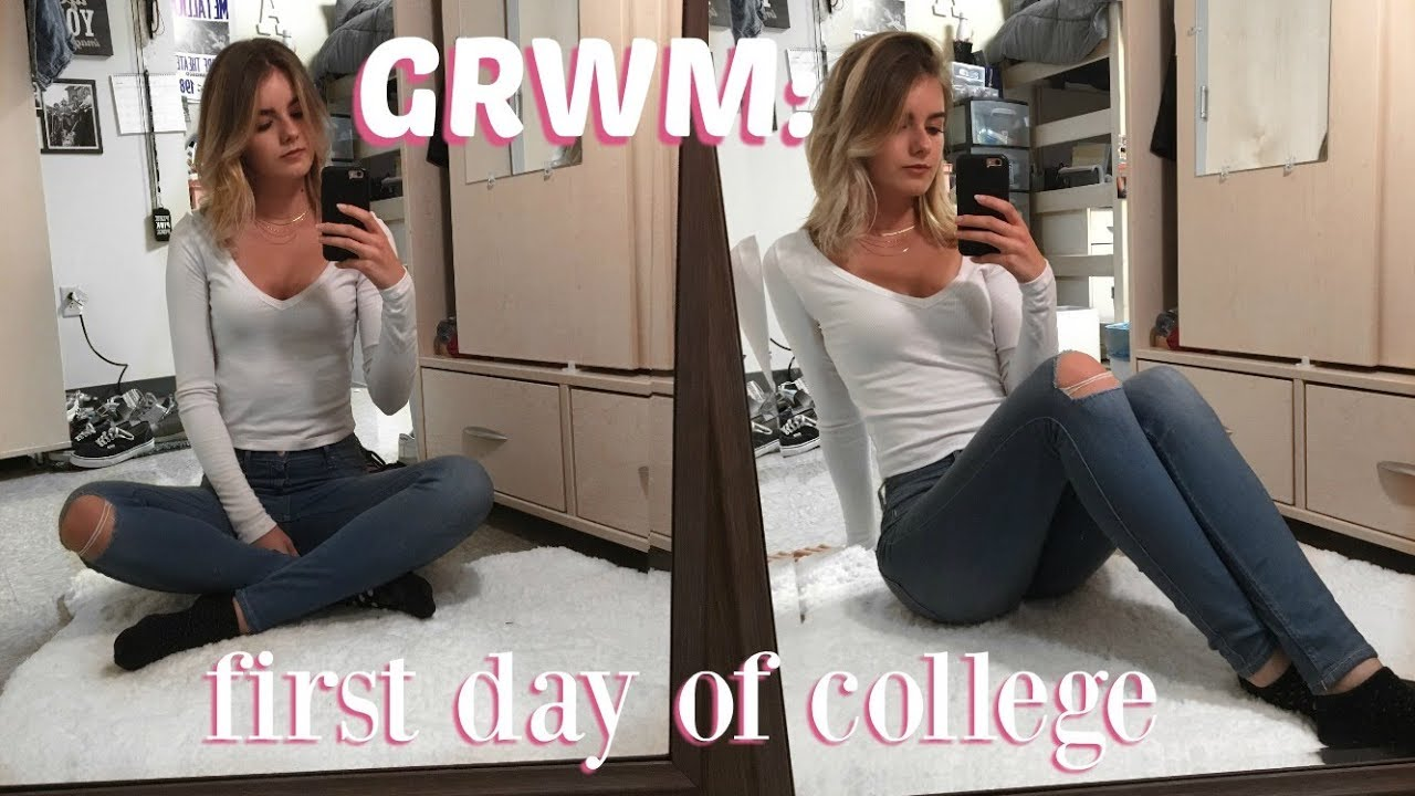 my first day at collage Making an impression on the first day of college classes is important set yourself up for success with these five helpful tips.