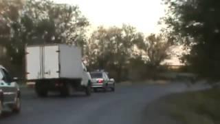 Погоня за газелью ДТП! Авария! Видеорегистратор_2