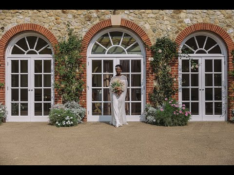 Afro Chic Wedding Styled Shoot at The Orangery in Maidstone, Kent.