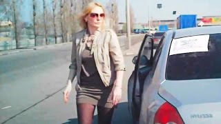 Woman Car Crashes Compilation, Women Driving Fail and accidents # 15