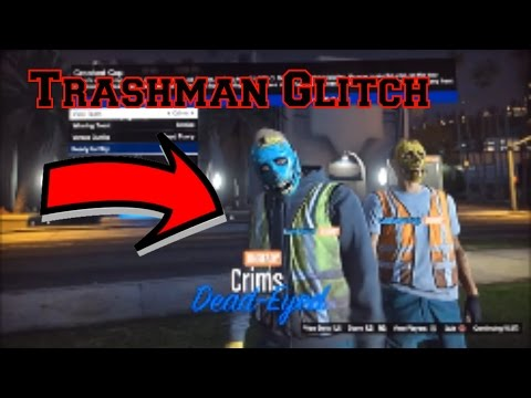 Trashman Outfit Glitch GTA 5 Online PS3/Xbox360