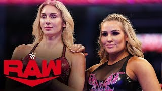 Charlotte Flair & Natalya vs. The IIconics: Raw, Oct. 28, 2019