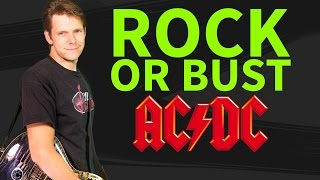 How to play Rock or Bust Guitar Lesson & TAB - AC/DC