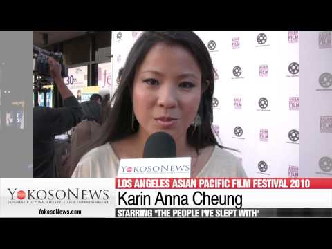 Karin Anna Cheung and her recent visit to Japan at LA Asian Pacific Film Festival 2010