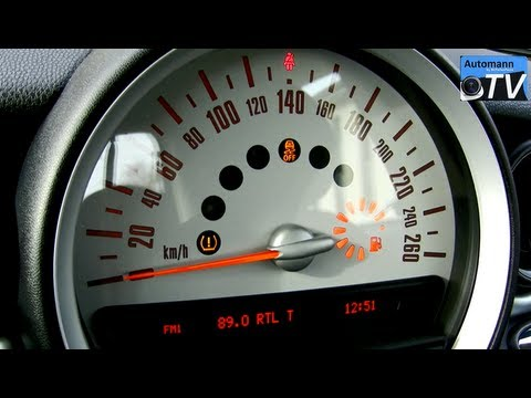 2012 Mini One D Autobahn Test 1080p Full Hd Youtube