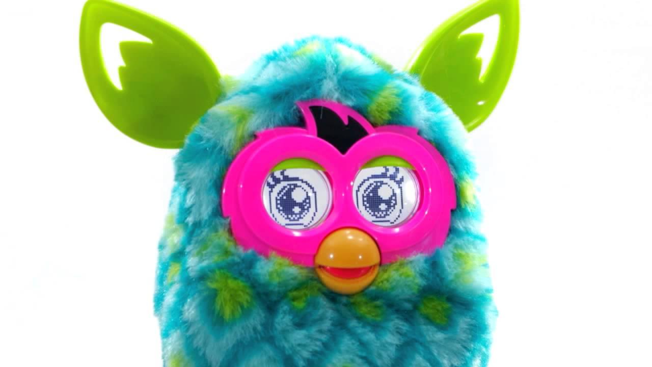 Интерактивная игрушка Фёрби Коннект (Furby Connect) - YouTube