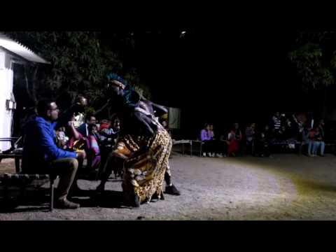 African Dance At Sasan Gir Junagaadh Gujarat