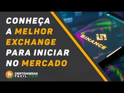 BINANCE MELHOR EXCHANGE PARA INICIANTES NO MERCADO DE CRIPTOMOEDAS