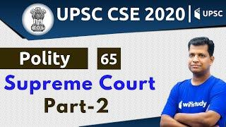 4:00 PM - UPSC CSE 2020 | Polity by Pawan Sir | Supreme Court (Part-2)