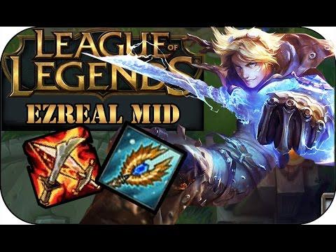 AP EZREAL MID | League of Legends Gameplay deutsch