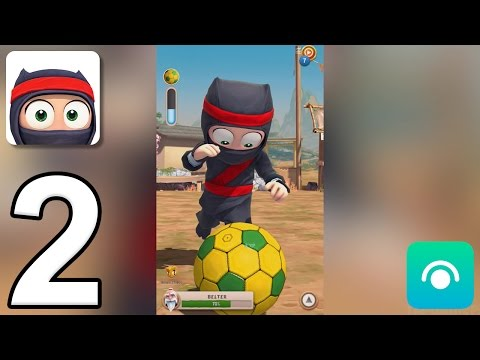 Clumsy Ninja - Gameplay Walkthrough Part 2 - Level 4-5 (iOS, Android)
