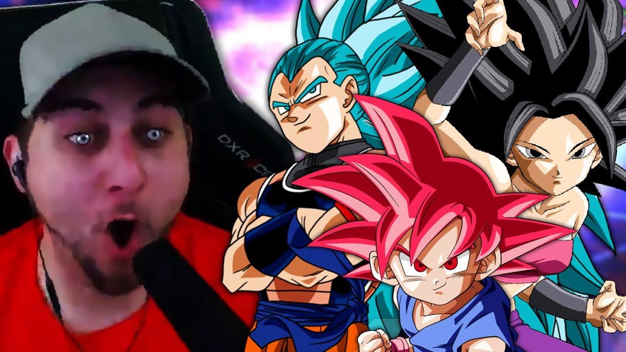 Raditz Good Trunks Ultra Instinct & SSJG Kid Goku VS UI
