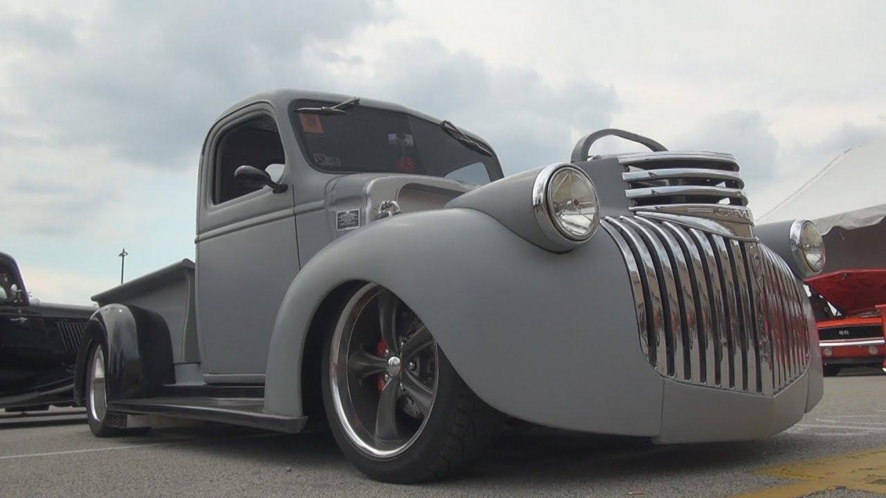 Classic Car Wallpaper 57 Chevy 1946 Chevy Hot Rod Rat Rod Pickup Truck 2015 Nsra