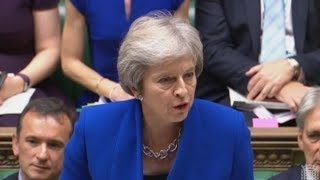 Theresa May takes on PMQs before heading to Brussels for talks | ITV News
