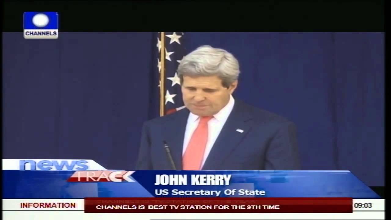 Download John Kerry Meets President Jonathan, General Buhari