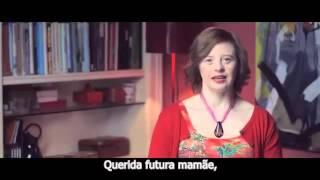 DEAR FUTURE MOM -  March 21  World Down Syndrome Day (Com legenda em português)