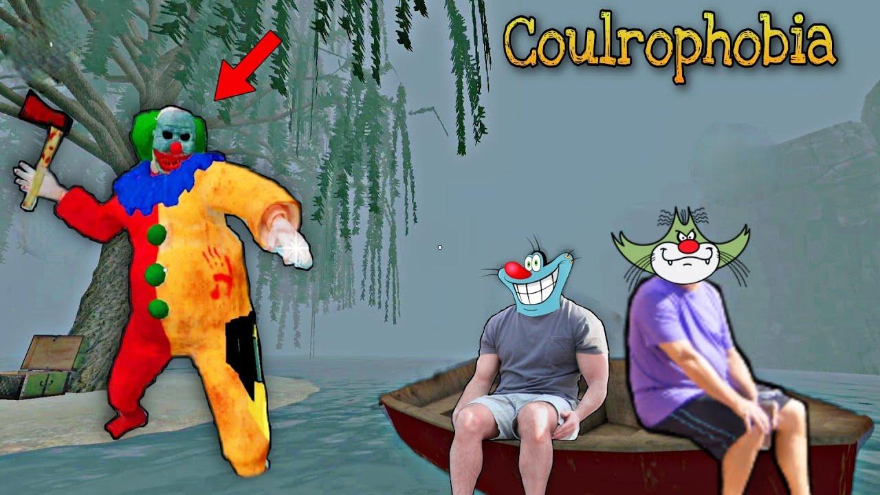 Pagal Joker ko Maja Chakhaya- Coulrophobia Full Gameplay with Oggy and Jack Voice   Joker Clown 🤡