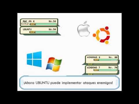 Win 8 7 Vista Xp Me Vs Mac Os X Ubuntu Batalla Pokémon