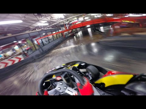 SUPERFAST Indoor Kart Race!! HD