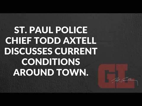 St. Paul Police Chief Todd Axtell on crime and conditions in the city