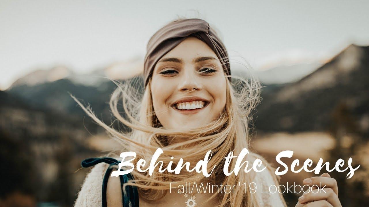 [VIDEO] - Behind the Scenes: Fall/Winter 2019 Lookbook 2